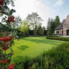 Ontwerp villatuin met gazon:  Tuin door Studio REDD exclusieve tuinen