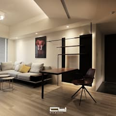 Living room by 臣月空間工程