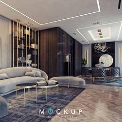 Salas / recibidores de estilo  por  Mockup studio