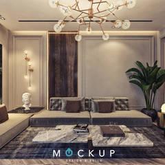 Living room by  Mockup studio,