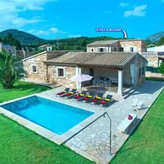 Villas by Diego Cuttone, arquitectos en Mallorca, Country