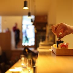 Projekty,  Gastronomia zaprojektowane przez Miel Arquitectos