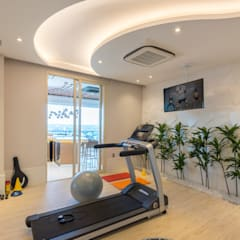 Gym by Designer de Interiores e Paisagista Iara Kílaris