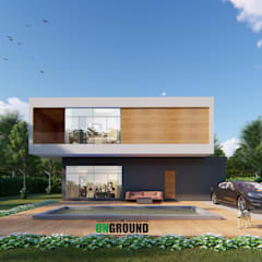 Viviendas colectivas de estilo  por The OnGround บริษัทรับสร้างบ้านสไตล์ Modern Japanese