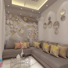 Living room by ديكور ابداع