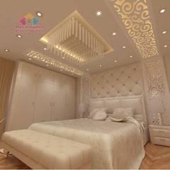 :  غرفة نوم تنفيذ ديكور ابداع