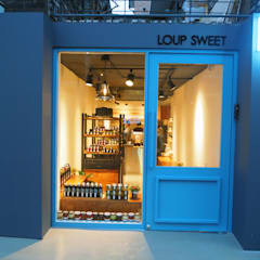 loup sweet: 바른디자인 - barundesign의  현관문