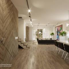 DOMENICA: styl , w kategorii Korytarz, przedpokój zaprojektowany przez Ludwinowska Studio Architektury