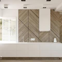 DOMENICA: styl , w kategorii Kuchnia zaprojektowany przez Ludwinowska Studio Architektury