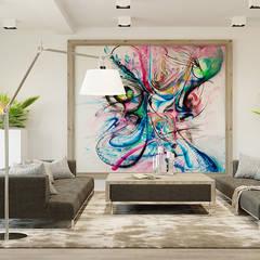 DOMENICA: styl , w kategorii Salon zaprojektowany przez Ludwinowska Studio Architektury