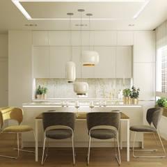 SIENA: styl , w kategorii Jadalnia zaprojektowany przez Ludwinowska Studio Architektury,