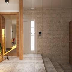 GEISHA: styl , w kategorii Korytarz, przedpokój zaprojektowany przez Ludwinowska Studio Architektury