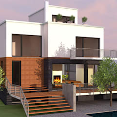 Residential Interior Turnkey Projects:  Small houses by Aone Interior Designer Jaipur