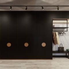 Квартира в Карасеозерском-2: Коридор и прихожая в . Автор – Дизайн Студия 33