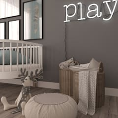 Recámaras para bebés de estilo  por Rengin Mimarlık