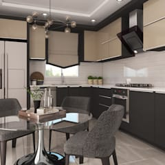Cocinas pequeñas de estilo  por Rengin Mimarlık