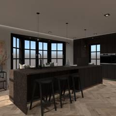 3D Visualisatie - Utrecht:  Keuken door Spijker Design Studio