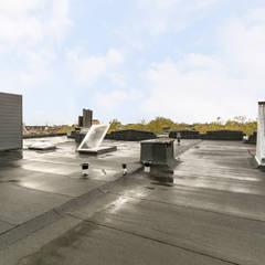 3D Visualisatie - Rotterdam:  Terras door Spijker Design Studio