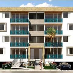 Rumah keluarga besar by Taller 3M Arquitectura & Construcción