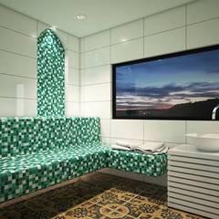 Baño turco / Proyecto BRISAS DEL RÍO - República Dominicana: Baños Turcos de estilo  por Taller 3M Arquitectura & Construcción