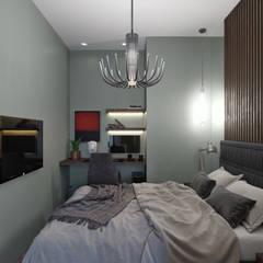 Dormitorios pequeños de estilo  por VB-Design