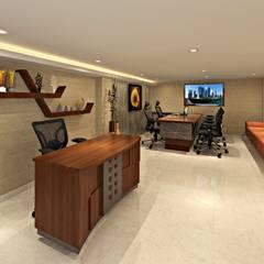 اتاق کار و درس by Aone Interior Designer Jaipur