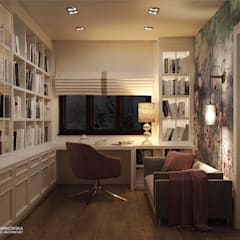 Study/office by Ludwinowska Studio Architektury
