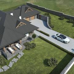 منزل عائلي صغير تنفيذ KJ Architekci
