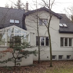 Zdjęcie stanu pierwotnego: styl , w kategorii Dom jednorodzinny zaprojektowany przez KJ Architekci