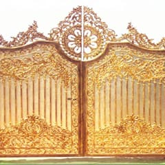 Puertas interiores de estilo  por CÔNG TY CỔ PHẦN SẢN XUẤT HOÀNG GIA HÀ NỘI, Escandinavo Tablero DM