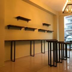 Ağaç Dekor Konsept  – Boncuk Point Projesi (Bursa Özlüce):  tarz Ofisler ve Mağazalar