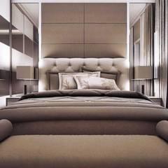 Apartemen Unit La Grande Bandung: Kamar Tidur oleh Maxx Details,