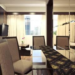 Apartemen The Jarrdin Bandung: Ruang Makan oleh Maxx Details,