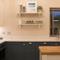 The Garden Lodge:  Built-in kitchens by ADORNAS KITCHENS