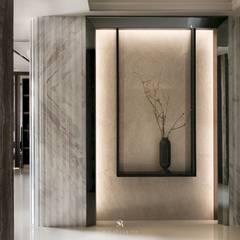 瀞若.覓謐 |Sequestered Reality:  走廊 & 玄關 by 理絲室內設計有限公司 Ris Interior Design Co., Ltd.