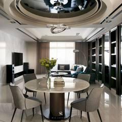 瀞若.覓謐  Sequestered Reality:  餐廳 by 理絲室內設計有限公司 Ris Interior Design Co., Ltd.
