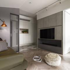 陸層:  走廊 & 玄關 by 寓子設計