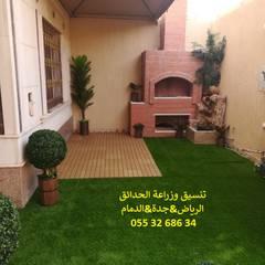 Estanques de jardín de estilo  por شركة تنسيق حدائق عشب صناعي عشب جداري 0553268634