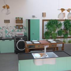 Mái hiên by Karol Naves Arquitetura e Interiores