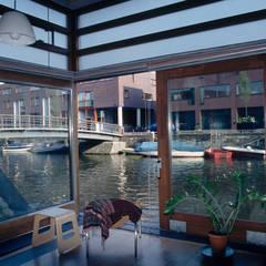 Woonhuis Oostelijk Havengebied:  Ramen door TEKTON architekten