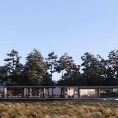 frontal: Casas de campo de estilo  por TW/A Architectural Group
