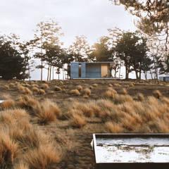 Lateral: Casas de campo de estilo  por TW/A Architectural Group