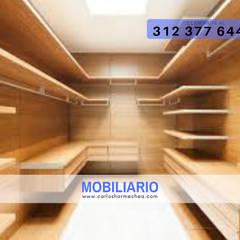 General: Estudios y despachos de estilo  por CARLOS HORMECHEA ARQUITECTURA