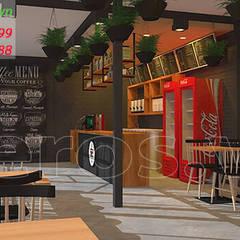 Oficinas y Tiendas de estilo  por xuongmocso1