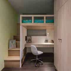 ห้องนอนเด็ก by 逸硯空間設計有限公司