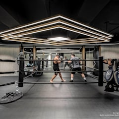 The Fighters Club Phase III:  Commercial Spaces by Brilliant Design & Construction Ltd.