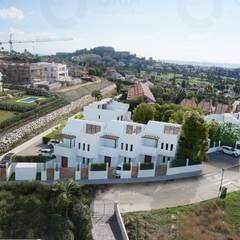Maisons mitoyennes de style  par ORIA Arquitectos