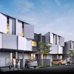 KAZE TOWN HOUSE 2:  Ruang Komersial by Atelier BAOU+