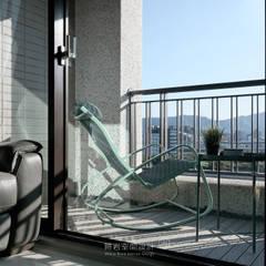 Balcony by 顥岩空間設計,