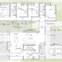 منازل تنفيذ 1.61 Arquitectos , حداثي